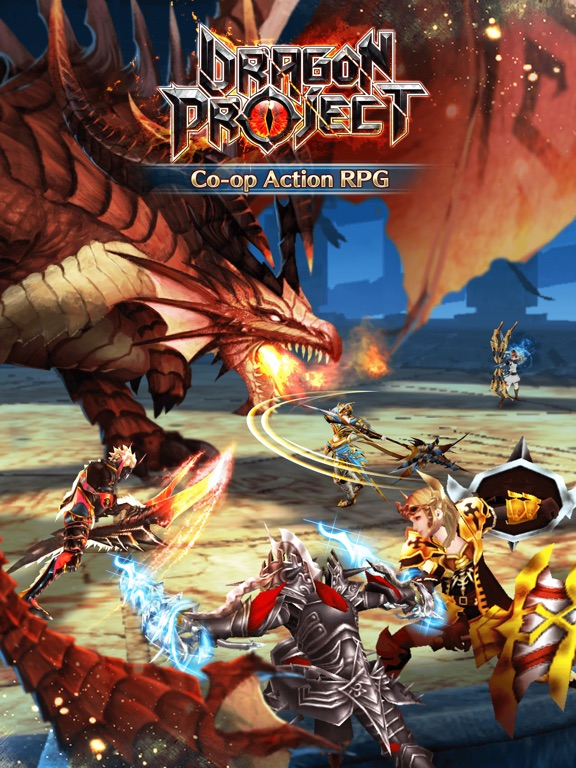 Dragon Project iOS Screenshots