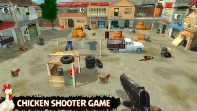 Chicken Shooting Space Invader Screenshot 1