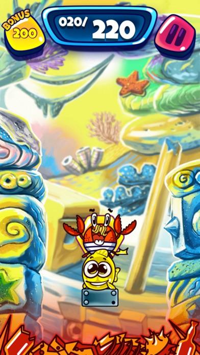 螃蟹救小鱼 screenshot 3