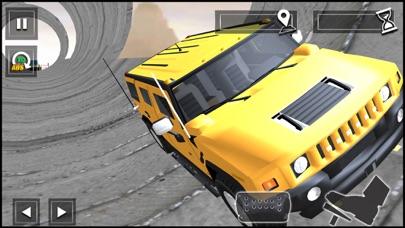 Impossible Car Stunt Track screenshot 1