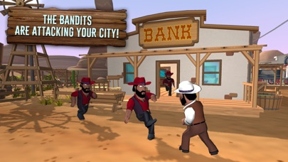 Screenshot of Red Dead in Texas Town App