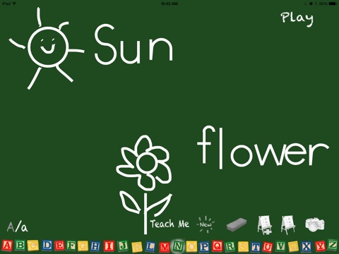Alphabet Chalkboard screenshot 4