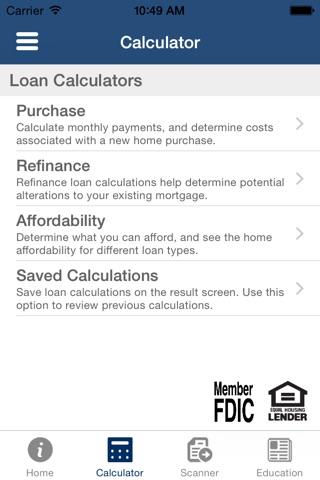 Evolve Bank & Trust Mortgage screenshot 2