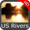 US Rivers HD GPS Map Navigator - Flytomap