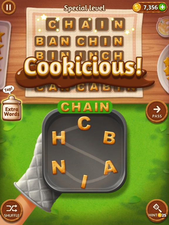 Word Cookies!™ iPad