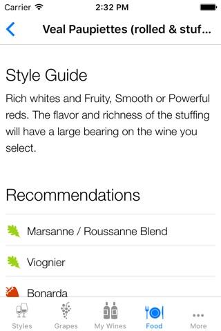 Pocket Wine Pairing screenshot 4