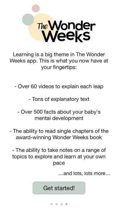 download The Wonder Weeks apps 1