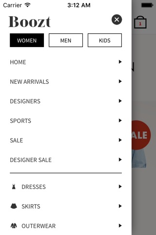 Boozt.com - we deliver fashion screenshot 1