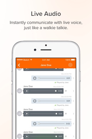Download Voxer Walkie Talkie Messenger app for iPhone and iPad