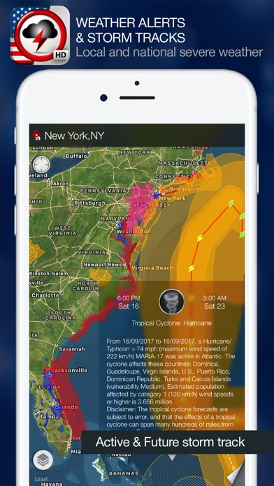 Weather Alert Map USA On The App Store - Us weather alerts map