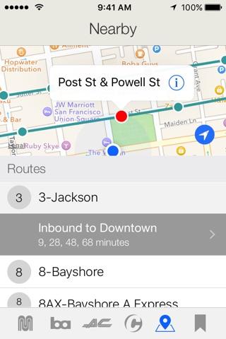 Routesy Pro Bay Area screenshot 2