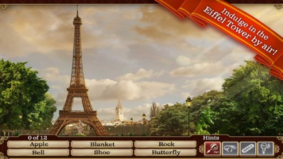 Screenshots of Hidden Objects: Gardens of Time for iPhone