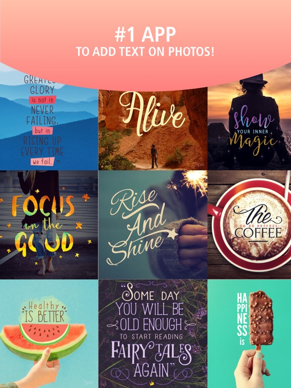 Typic - Text on Photos Скриншоты7