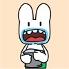 Easter Bunny Animated Stickers