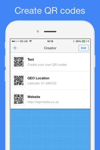 QR Reader for iPhone screenshot 3