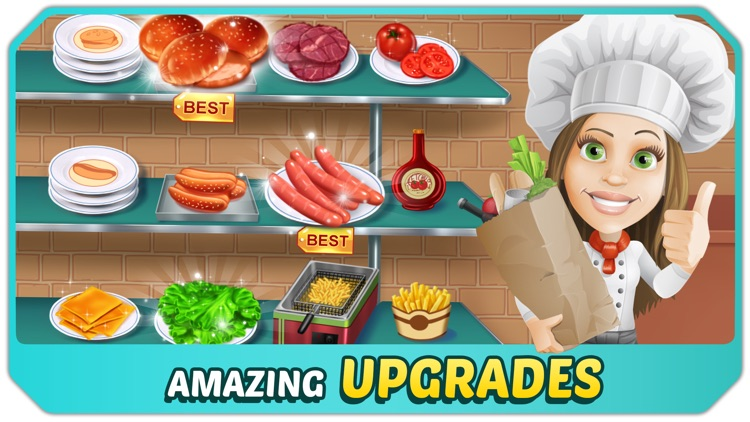 Kitchen Craze: Cooking Chef By FlowMotion Entertainment: Top Free Fun  Addictive Cool Games Inc
