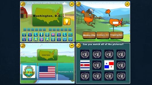 60 World Countries & Capitals Screenshots