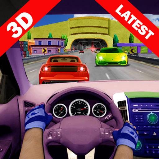 City Racing Car in Traffic:Turbo 3d