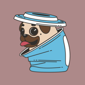 Funny Fatty Pugs Sticker app review