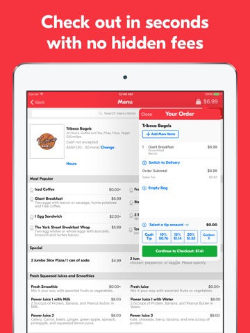 Grubhub – Order Food Delivery screenshot 4