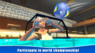 Water Polo Swimming Sports 3D screenshot 2