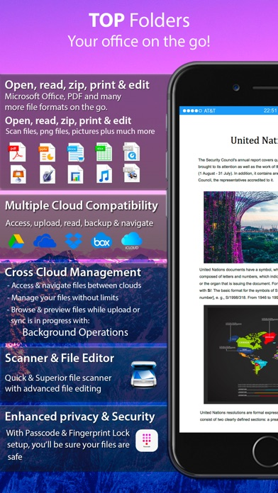 Top Folders Pro - Scanner Plus Screenshots