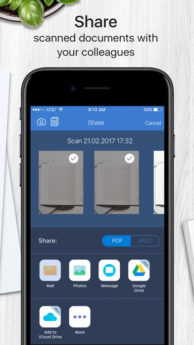 Scanner App Pro iRocks Screenshots