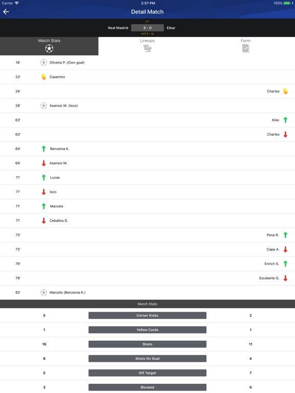 Screenshot #2 for Football TV - Football Scores