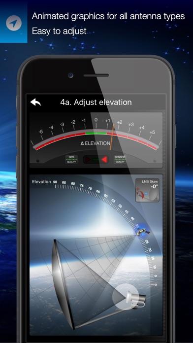 Satfinder app