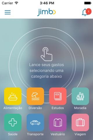 Jimbo - Controle de Despesas screenshot 2