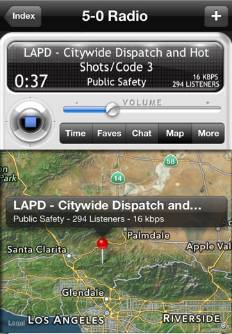 5-0 Radio Police Scanner screenshot 2