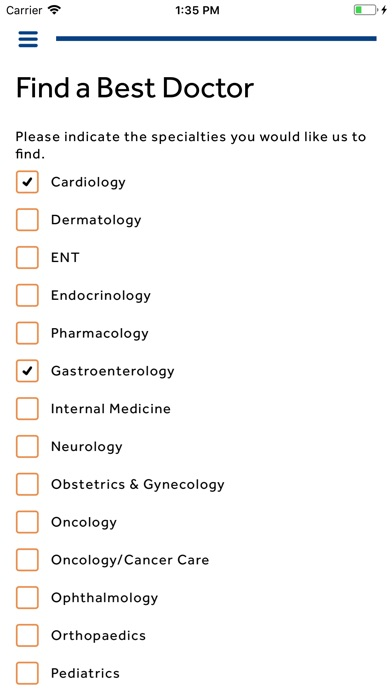 Best Doctors Member App screenshot 3