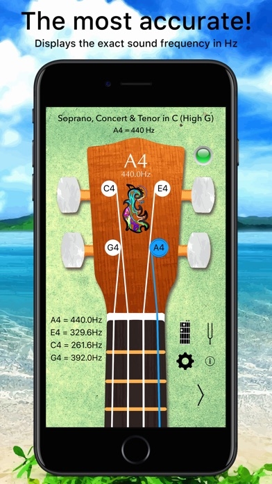 Ukulele Tuner Pro Lite - Tune with precision and ease, for free Image