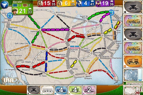 Ticket to Ride screenshot 1