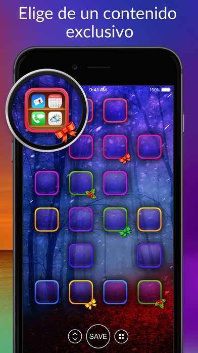 Screenshot for Tunea Tu Pantalla - Temas in Ecuador App Store