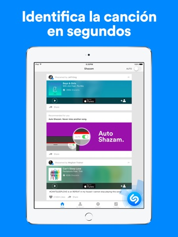 Shazam Encore screenshot 1