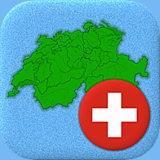 Download Mapa político de Suiza ilustración del vector. Ilustración de  ginebra - 103386279