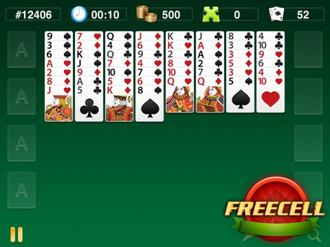 FreeCell Classics screenshot 1
