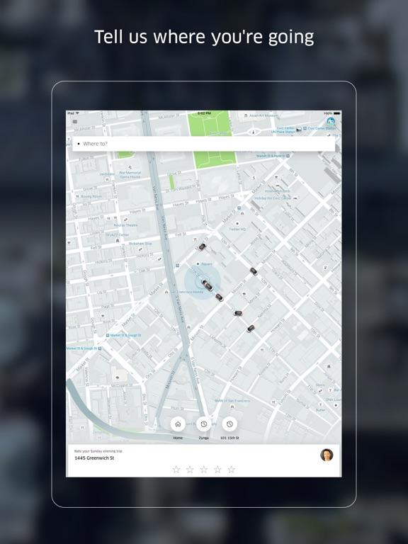 Uber Скриншоты7