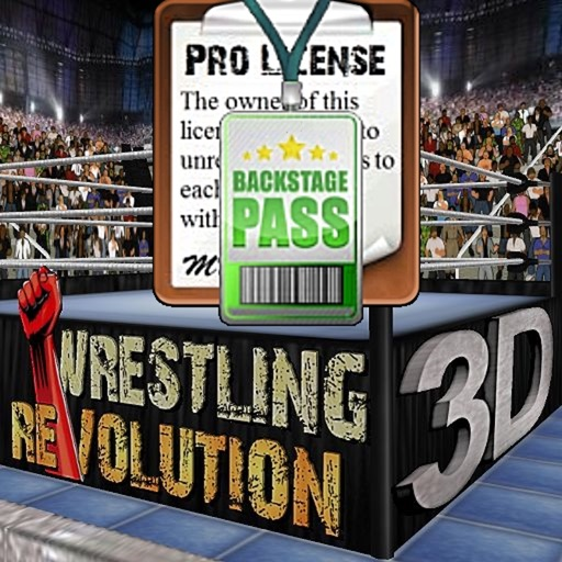 Wrestling Revolution Pro IPA Cracked for iOS Free Download