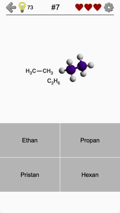 Kohlenwasserstoffe: Strukturen Screenshot
