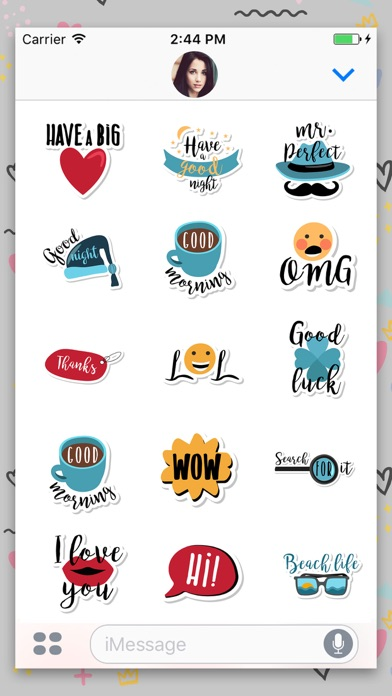 download Everyday Animated Text Sticker apps 2