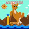 Kanjanee Sumatchaya - Spring Brown Kangaroo Adventur  artwork