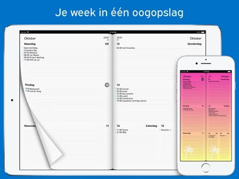 Week Agenda Ultimate screenshot 1