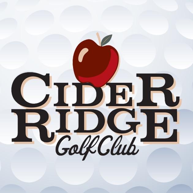 Cider ridge golf club on the app store for Cider ridge