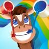 123 圖畫書 遊戲中有許多類似的圖片小馬,馬,馬術,種馬多:馬兒童