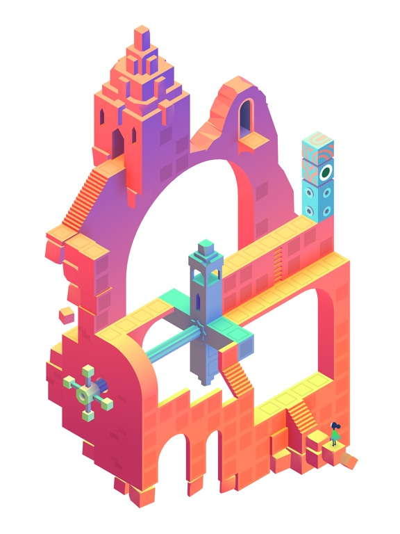 Screenshot #2 for Monument Valley 2