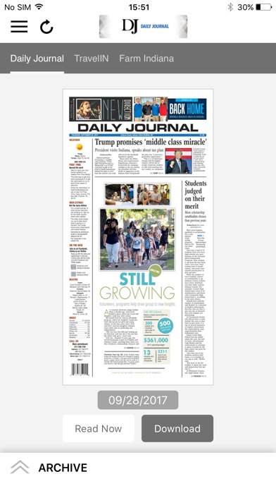 Daily Journal eEdition