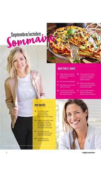 Weight Watchers Magazine France review screenshots