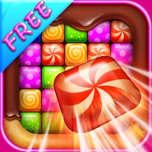 Pop Candy Crunch free iOS App